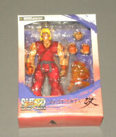 Super Street Fighter Iv Ken Play Arts Kai Action Figure Arcade Edition