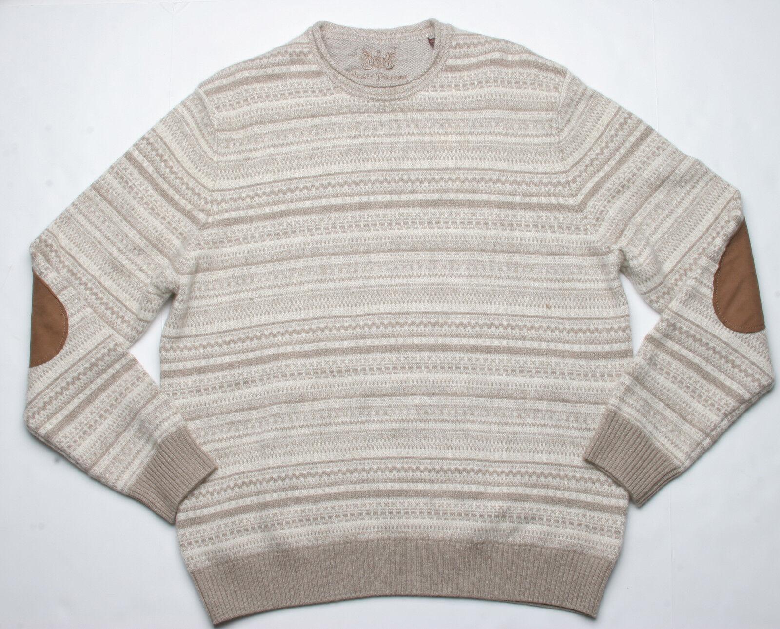 Hickey Hickey Hickey Freeman Mohogany Collezione Righe Maglione (L) Bianco Combinazione 7af5b7