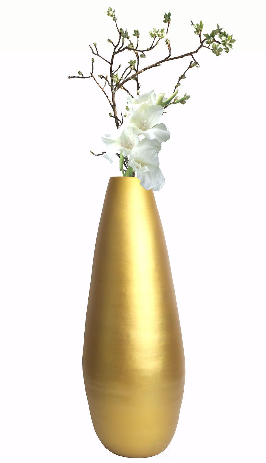 Nuevo uniquewise 31.5  hilado metálico alto Florero de piso moderna de bambú
