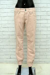 Pantalone-MARLBORO-CLASSICS-Donna-Taglia-32-Jeans-Pants-Woman-Elastico-Slim-Fit