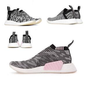 Details zu adidas NMD CS2 PK Primeknit Citysock Damen Sneaker BY9312 GreyCore BlackCore