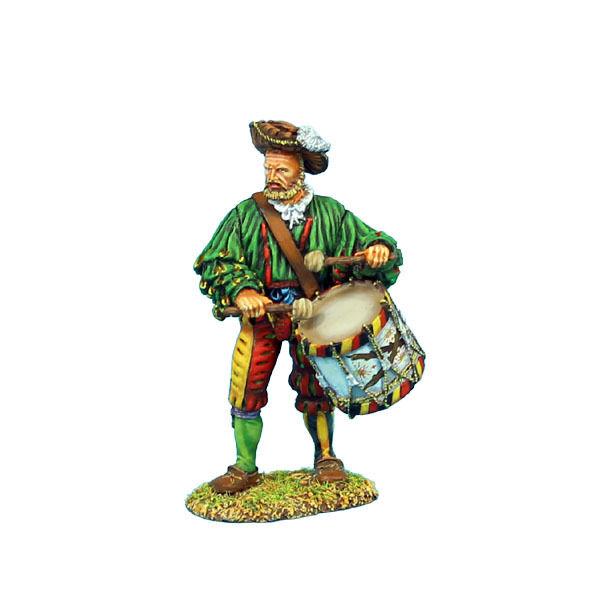 Första legionen  REN002 Tysk Landsknecht Drummer