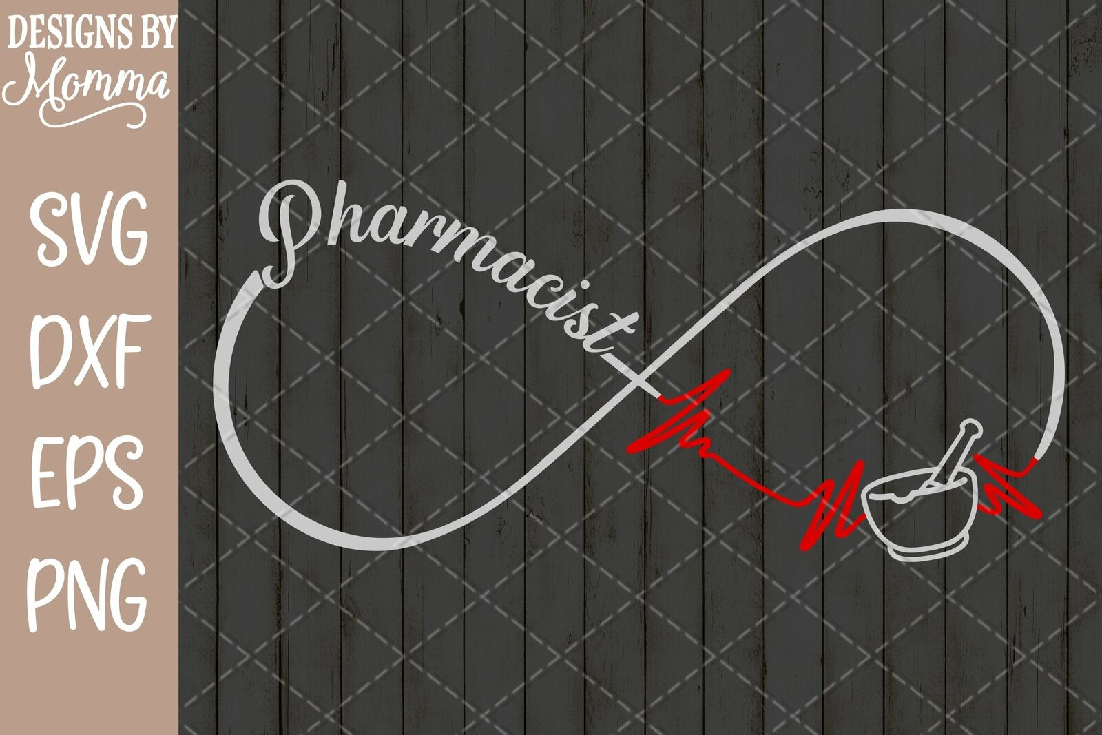 Pharmacist Pharmacy Infinity Svg Dxf Eps Png Cut File Cricut Silhouette For Sale Online Ebay