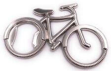 Fahrrad Bike Silber Flaschenöffner Schlüsselanhänger Anhänger aus Metall