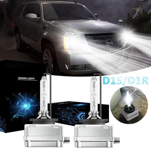 35W D1S HID Xenon Headlight Bulb 6000K For Cadillac