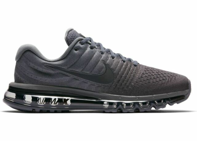 9de25eb127 NIKE AIR MAX 2017 MEN'S RUNNING SHOE 849559 008 GREY/ANTHRACITE ALL SIZE 14