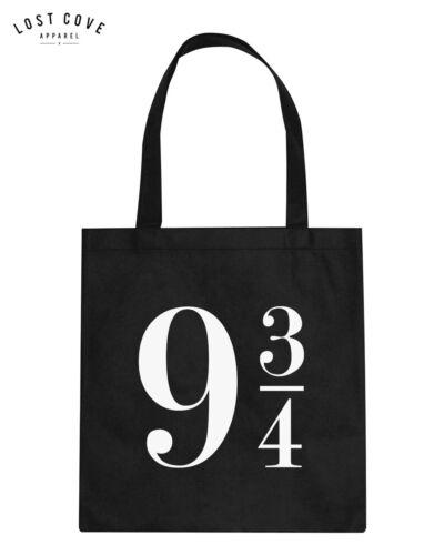 * 9 3//4 Harry Potter Tote Shoulder Bag Handbag Canvas Fangirl Gift Platform *