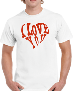 P42 Wife,Girlfriend,Date,Funny T-Shirt Men/'s I Love You