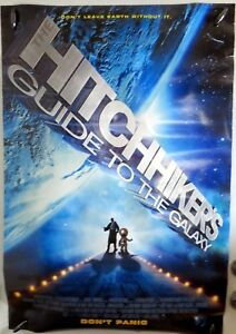 Hitchhikers-Guide-to-the-Galaxy-27-034-x40-034-2-Sided-ORIGINAL-Movie-Poster