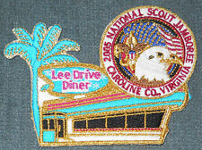2005 National Boy Scout Jamboree Lee Drive Diner Staff Patch MINT! Jambo Jam NJ