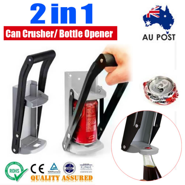 Can Crusher Bottle Opener Aluminium Recycling Cans Kitchenware Soda Beer 16oz Ne