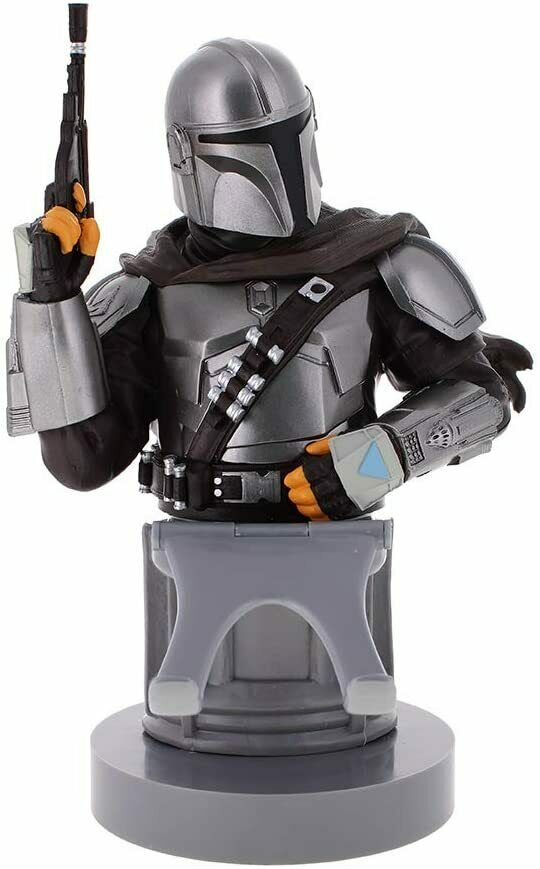 Cable Guy The Mandalorian Star Wars Mobile Phone Controller Holder Figure - New