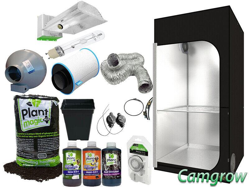 Maxibright 315 luz del día o Lumii Solar 315 Kits completos de tienda suelo orgánico