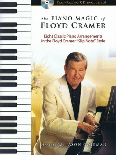 The Piano Magic of Floyd Cramer Sheet Music Book and CD NEW 000127827