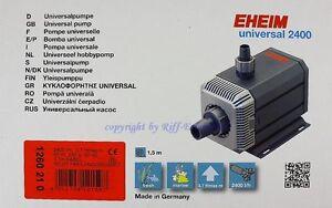 Pet Supplies Eheim Universal 2400 Pompe 1260210 Pompe Universelle Doux Et Eau De Mer Mild And Mellow