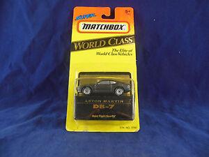 Escaso-Matchbox-37-Aston-Martin-DB-7-Super-Original-Y-Sellado-De-Clase-Mundial