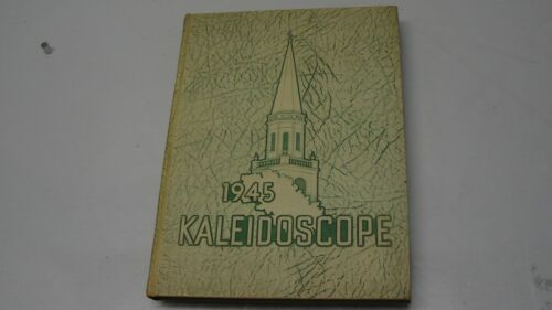 1945 KALEIDOSCOPE MIDDLEBURY COLLEGE VERMONT YEARBOOK