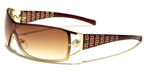 Womens New Kleo Designer Sunglasses Ladies or Girls Rimless Shield Glasses UV400