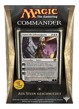 GERMAN Magic MTG 2014 Commander C14 Sealed Deck Forged in Stone DE The Gathering
