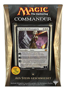 GERMAN-Magic-MTG-2014-Commander-C14-Sealed-Deck-Forged-in-Stone-DE-The-Gathering