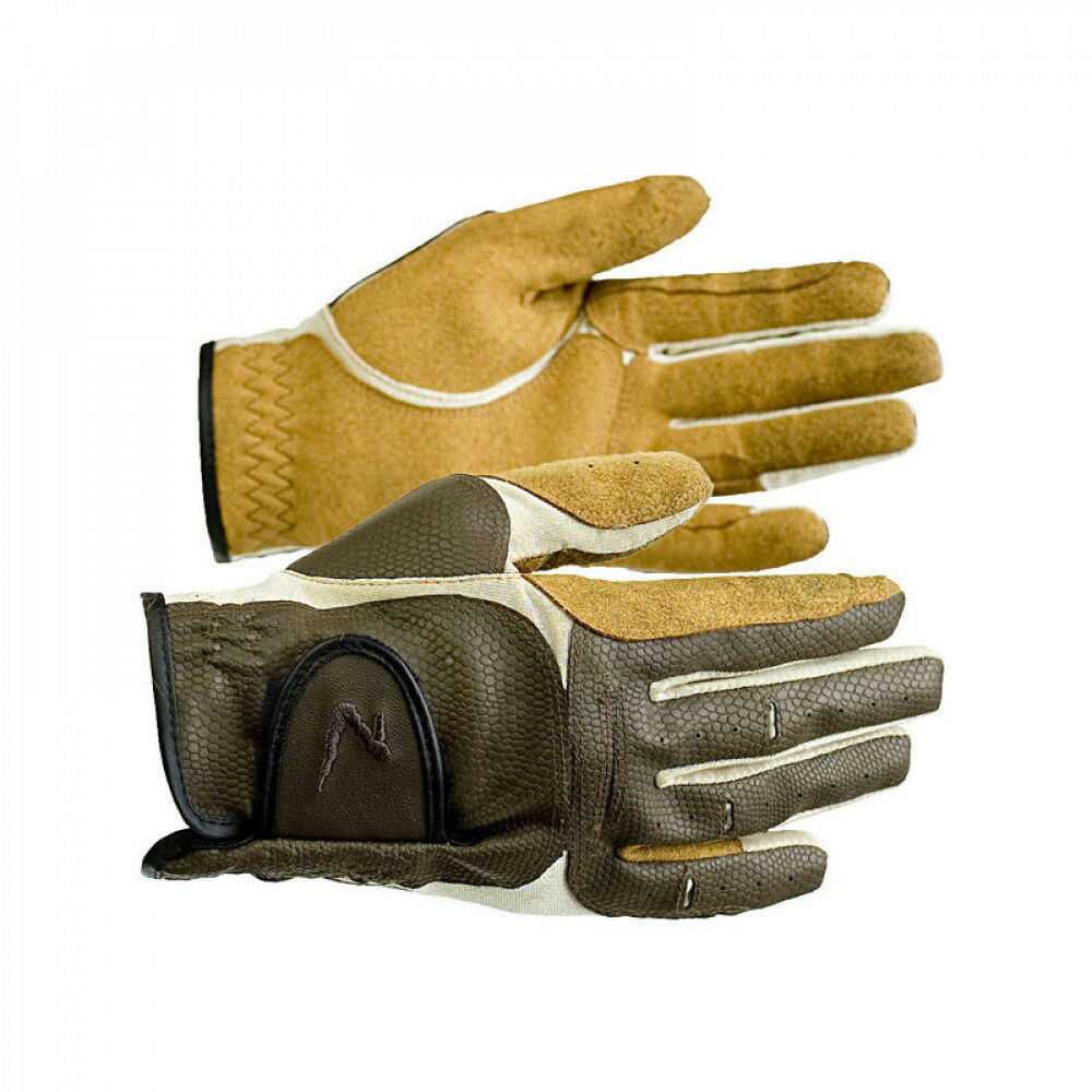 Horse Riding Gloves Horze Lyon Synthetic Leather Gloves