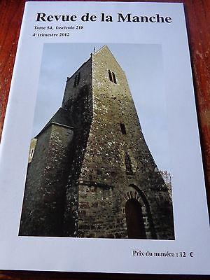 Revue de la Manche Fasc 218 Burel d/'Avranches Coutances St Samson de Bonfossé