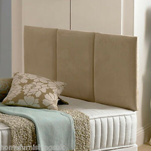 pretty nice bc9d4 51215 Details about 3ft 6 Large Single Elegance Support Headboard