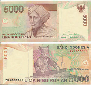 Indonesia-Indonesia-5000-Rupiah-2015-UNC-Pick-New