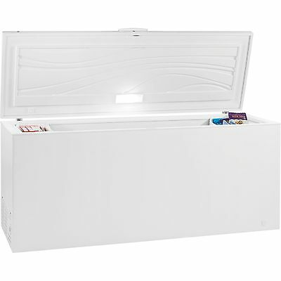 21.5 Cubic Foot Kenmore Chest Freezer with Security Lock & 2 Baskets