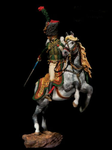 1//32 54mm Resin Imperial Guard Hunter on Horse Unassembled Unpainted 3007-75