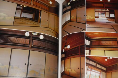"JAPAN Wa no Haikei Catalog /""Japanese Style,Japanese House/"" Manga draw Book"