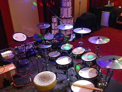 roland td 30 kv v series 8 piece 5 cymbals roland rack ebay. Black Bedroom Furniture Sets. Home Design Ideas
