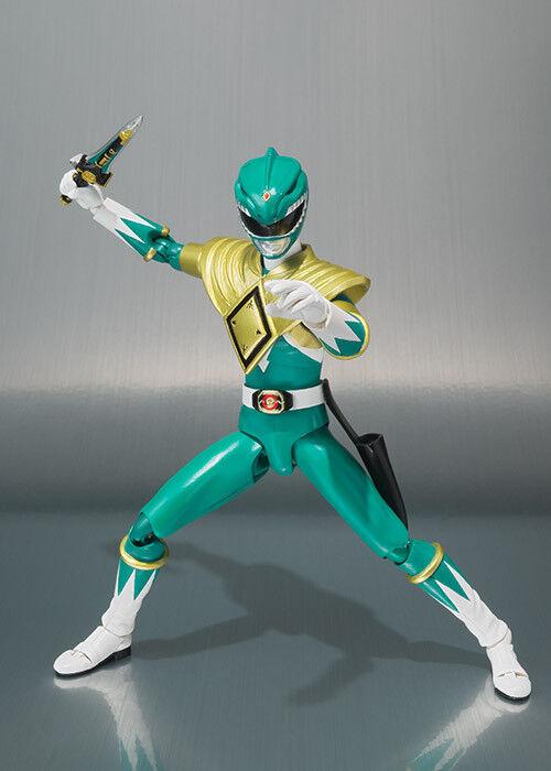 SDCC 2018 Exklusiv Tamashi Nations Power Rangers - S.H. Figuarts grön Ranger