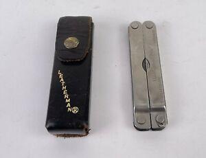 Vtg Leatherman Multi Tool Pocket Knife