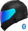 thumbnail 3 - Motorcycle-Helmet-with-Bluetooth-Headset-installed-Shield-color-options
