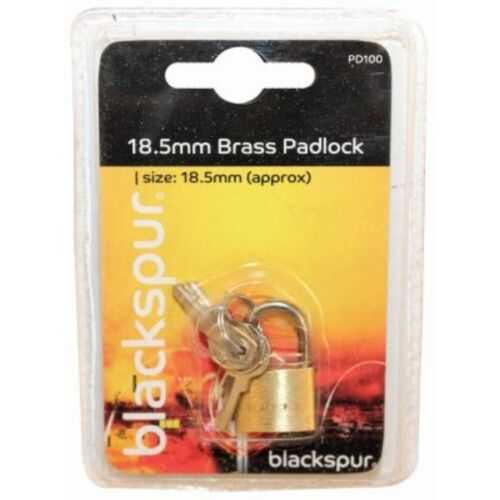 20mm Brass Mini Luggage Suitcase Shed Lock Padlock