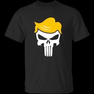 Trump//Qanon Punisher Skull Men/'s T-Shirt