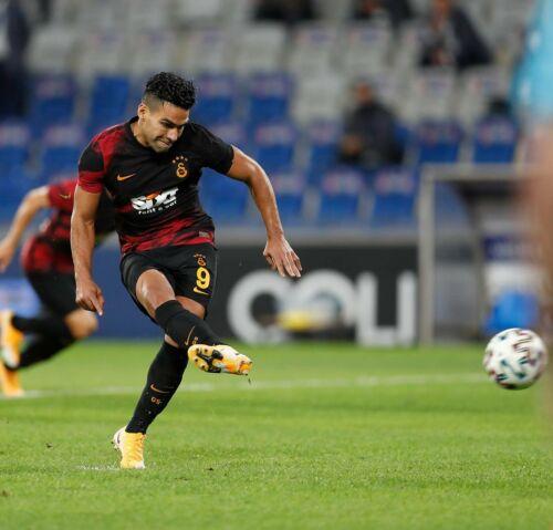 Radamel Falcao Galatasaray 2020//21 Away Match Jersey DHL Express Shipping