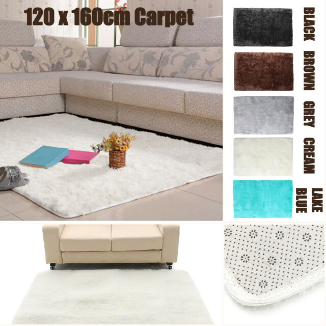 Shag Shaggy Area Rug Living Room Carpet Bedroom Rug 3x5 ft New Modern