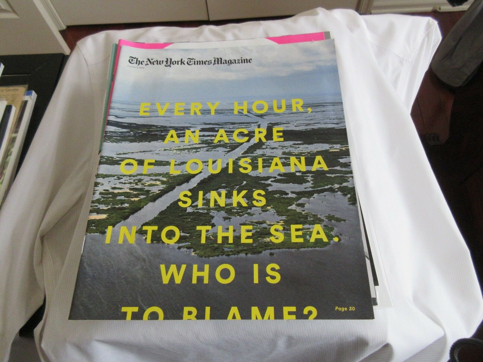 Every Hour, an Acre of Louisiana Sinks Into the Sea. Wh