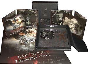 DAYS-OF-THE-TRUMPET-CALL-REMINISZENZ-3CD-BOX-Von-Thronstahl-Blood-Axis-Triarii