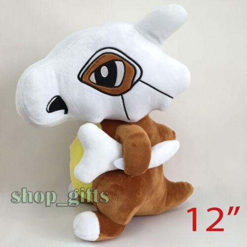 "Pokemon Cubone #104 Plush Soft Toy Stuffed Animal Doll Teddy Figure 12/"" BIG"