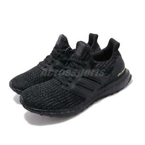 40268a457c6eb adidas UltraBOOST W 4.0 Black Gold Women Running Casual Shoes ...