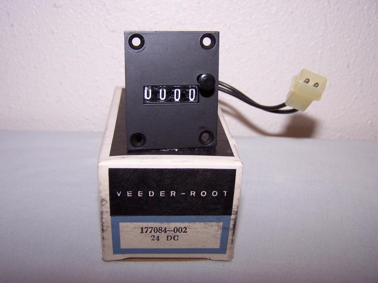 VEEDER ROOT 177084-002  MECHANICAL HOUR METER REGISTER NEW IN BOX