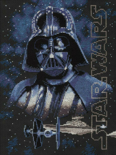 Darth Vader #70-35381 Counted Cross Stitch Kit ~ Dimensions Star Wars