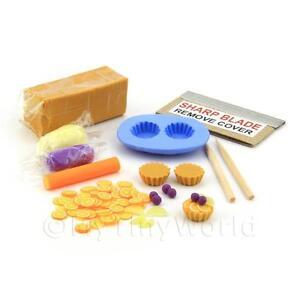 Maison de Poupées Miniature Tigre Loaf Kit avec Moule Silicone
