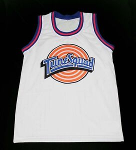 a846ed7a8b7d DAFFY DUCK TUNE SQUAD SPACE JAM MOVIE BASKETBALL JERSEY TOON NEW ...
