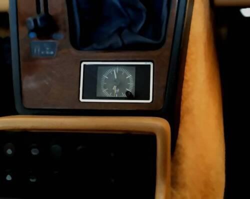 D Alfa Spider Typ4 Chrom Rahmen für die Uhr - Edelstahl poliert