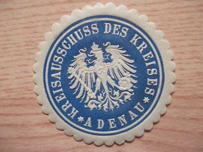 (11839) Siegelmarke - Kreisausschuss Des Kreises Adenau