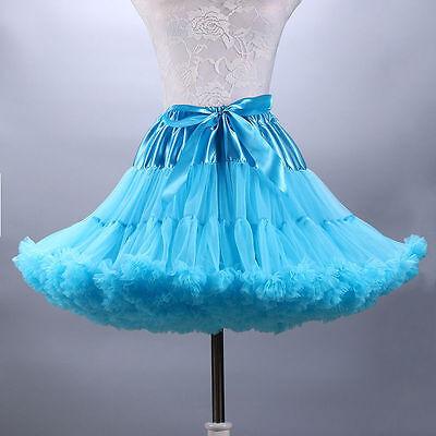 Fluffy Dance Costume TUTU Skirt Petticoat Cosplay Beautiful Pettiskirt Crinoline